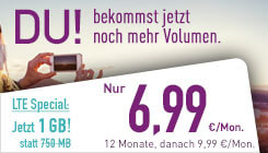 LTE Special Angebot