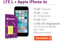 yourfone LTE L – Die Allnet-Flat für Power-User