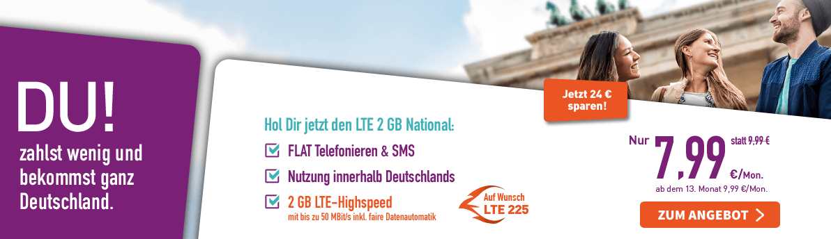 LTE 2 GB National