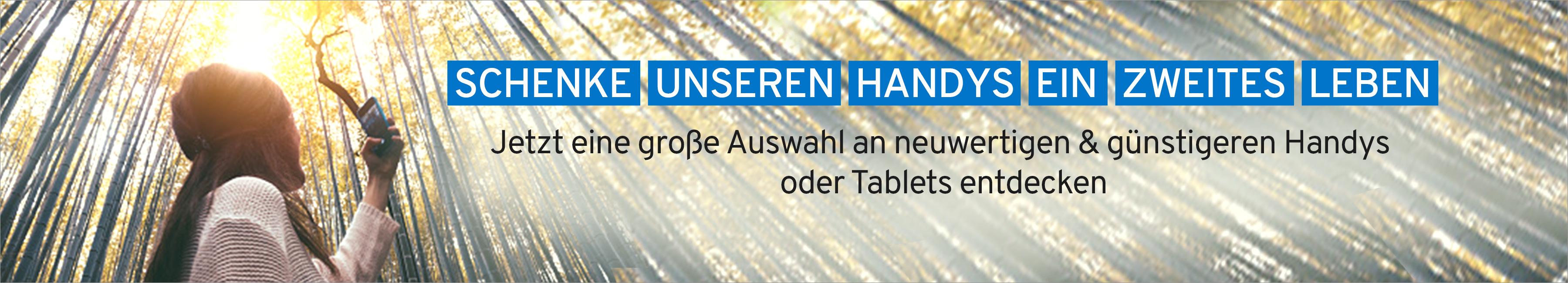 Jetzt eine große Auswahl an neuwertigen & günstigeren Handys oder Tablets entdecken