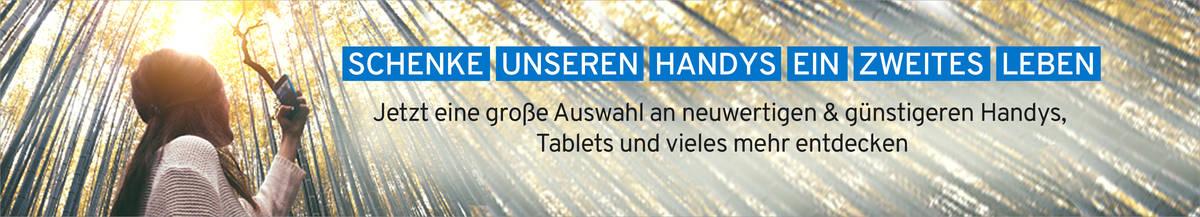 Jetzt eine große Auswahl an refurbished und generalüberholten Handys und Tablets entdecken