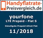 LTE Prepaid Flat S - Günstige Prepaid Allnet Flat