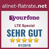 LTE Special mit 1 GB LTE-Internet