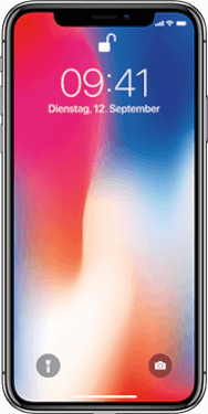 iPhone X 64GB Space Grau