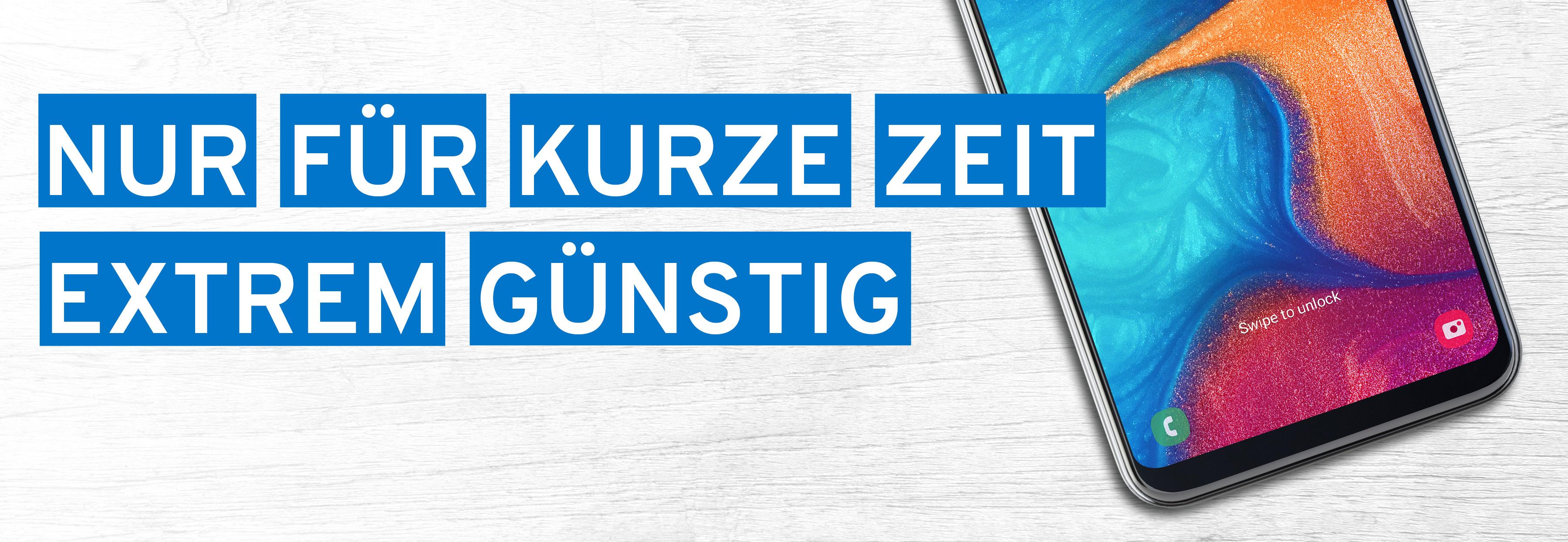 Neues Samsung Galaxy A20e