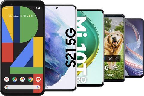 Diese Smartphones bekommen das neue Android 11