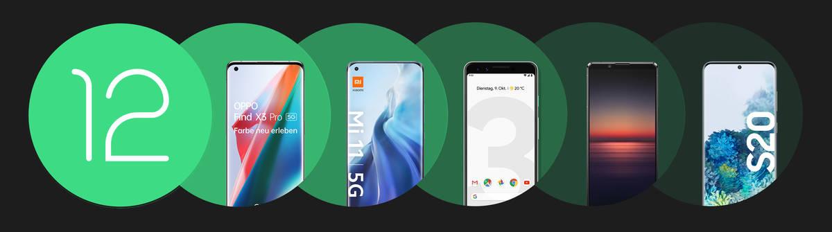 Android 12: Alle Infos zum Google Betriebssystem