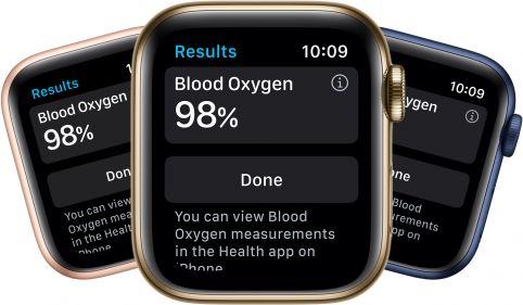 Spezielle Sensoren: EKG-Funktion und Blutsauerstoffmessung bei der Apple Watch 6
