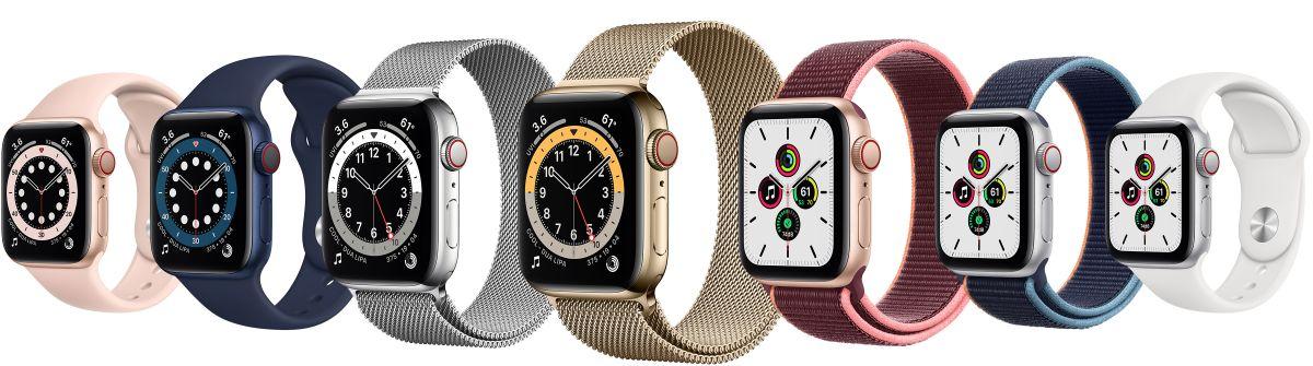 Apple Watch Series 6 und SE: Details, Funktionen und Infos