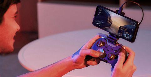 ROG Phone 3: Clip für weitere Spielecontroller