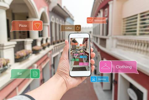 Augmented Reality zur Live-Navigation