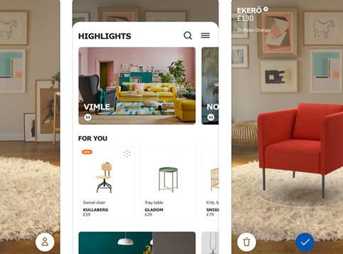 IKEA Place – virtueller Sessel-Tanz