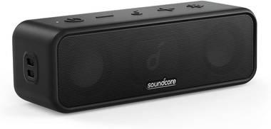 Der Anker SoundCore 3 Bluetooth Lautsprecher mit hoher Akkulaufzeit