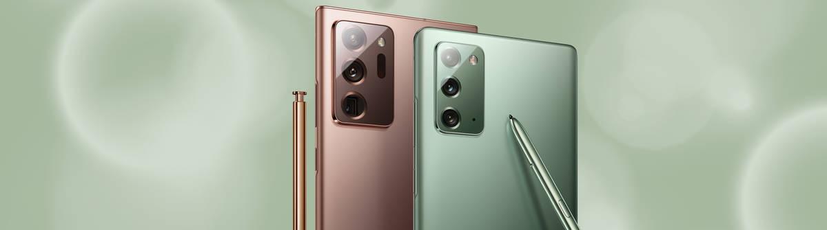 Die neue Samsung Galaxy-Note 20-Serie