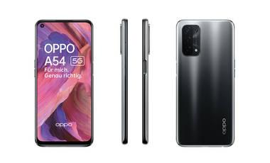Das neue A54 5G ist Teil der Oppo A-Serie mit 5G-Konnektivität und Turbo-Display