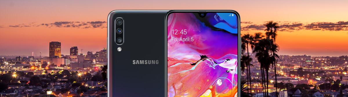 Samsung Galaxy A70 und 1 GB