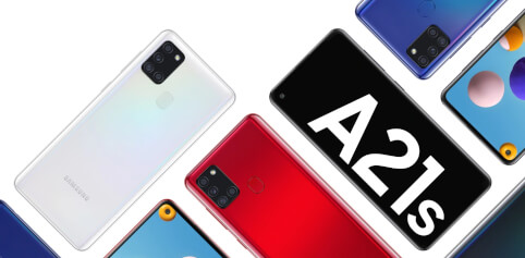 Galaxy A21s – ein weiteres Highlight der galaktischen A-Reihe von Samsung