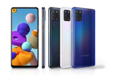 Samsung Galaxy A21s kombiniert mit LTE Tarif ab 9,99 EUR monatlich