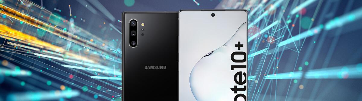 Samsung Galaxy Note 10+ und 1 GB