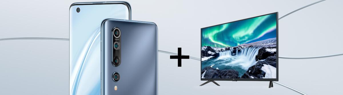 Das Xiaomi Mi10 mit Smart TV und LTE, jetzt in Unserem Deal bei yourfone