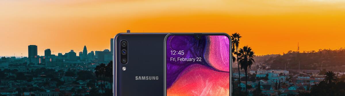Samsung Galaxy A50 mit Triple-Kamera