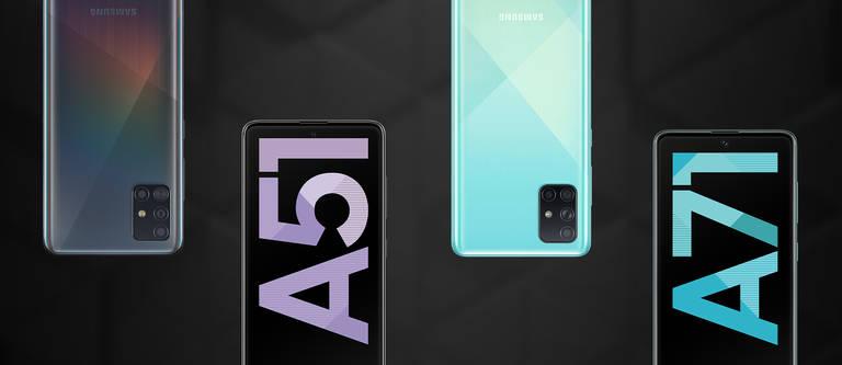 Galaxy A51 & A71: Vorstellung der neuen Galaxy-Modelle
