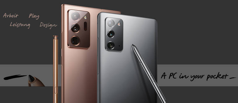 Die neue Samsung Galaxy Note 20 Serie ist da