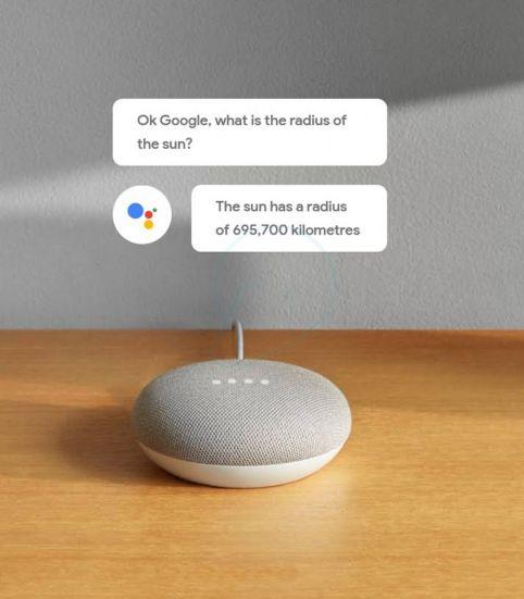 Google Assistant im neuen Nest Mini