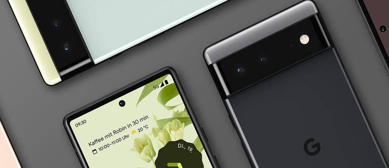 Google Pixel 6 (Pro): Die neue Handy-Serie von Google