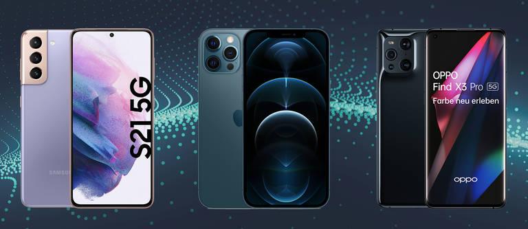 Handys bis 1.000 EUR: Top Smartphones im Vergleich