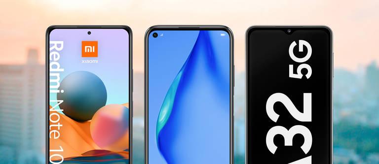 Handys bis 300 Euro: Drei Smartphones im Vergleich