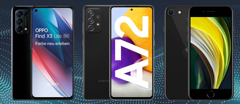 Handys bis 500 Euro: Top Smartphones im Vergleich