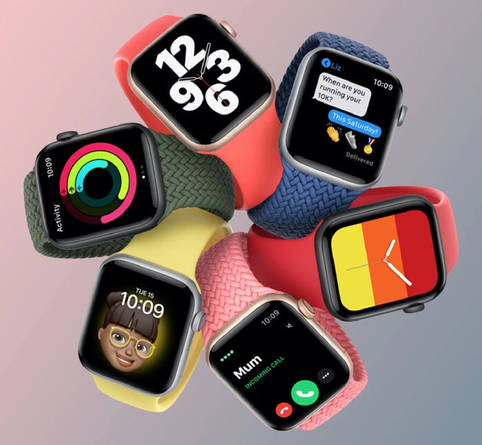 Apple Watch Series 7 steht in den Startlöchern