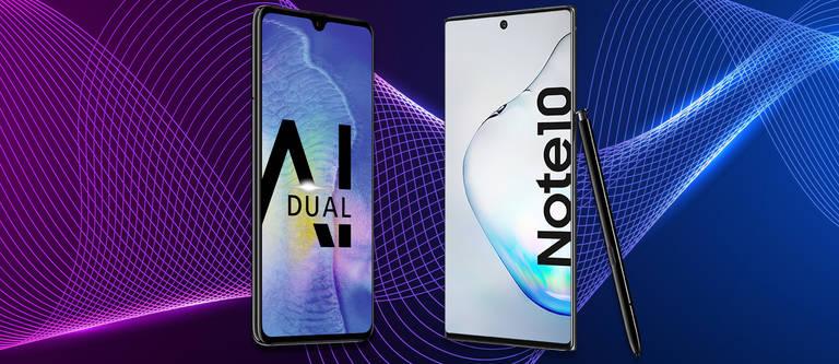 HUAWEI Mate 20 vs. Samsung Galaxy Note 10: Der Vergleich