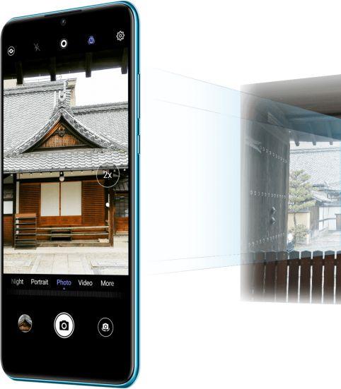 P30 lite New Edition: Detailreiche Nahaufnahmen mittels Zoom-Technologie