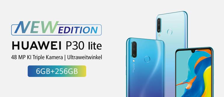 HUAWEI P30 lite New Edition: Das Mittelklasse-Handy mit Profi-Kamera