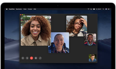 Präsentations-Modus in FaceTime