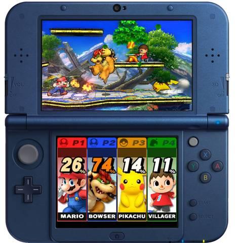 Die Nintendo New 3DS XL Konsole