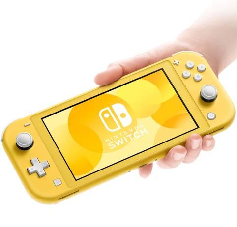 Die Spielekonsole Nintendo Switch Lite