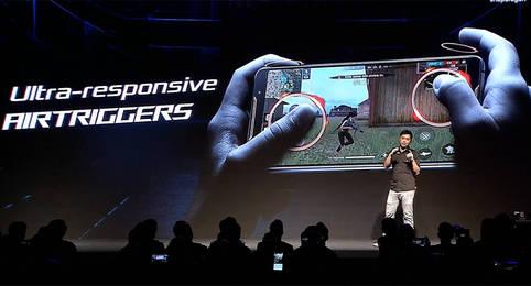 Konsolenfeeling auf dem neuen Asus Smartphone – Mit den AirTriggern des Asus ROG Phone 2