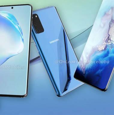 Stellt Samsung auch eine Smartphone-Trilogie vor?