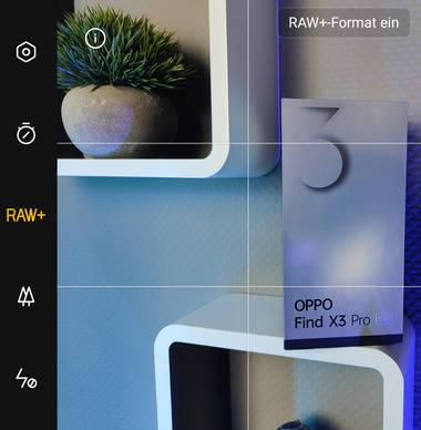 Kamera-App: 10-Bit Aufnahmen, RAW+ Format und Film-Modus mit LOG