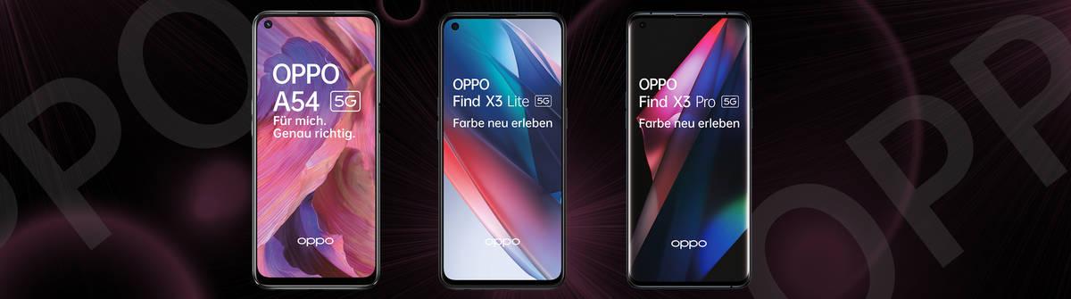 Aktuelle Oppo-Handys im Überblick