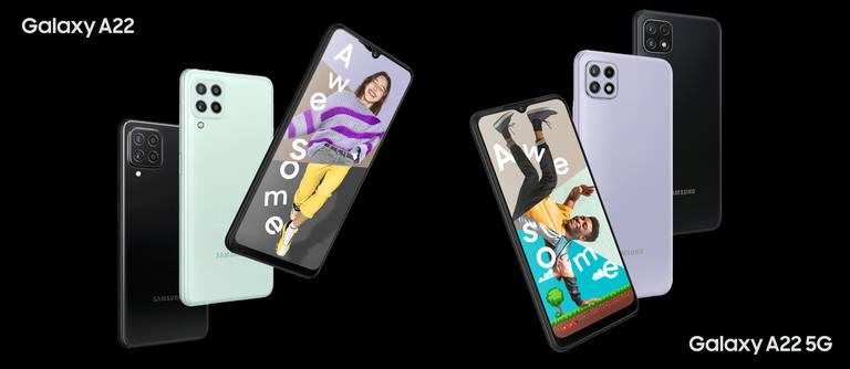 Samsung Galaxy A22 (5G): Günstige Einsteiger-Handys