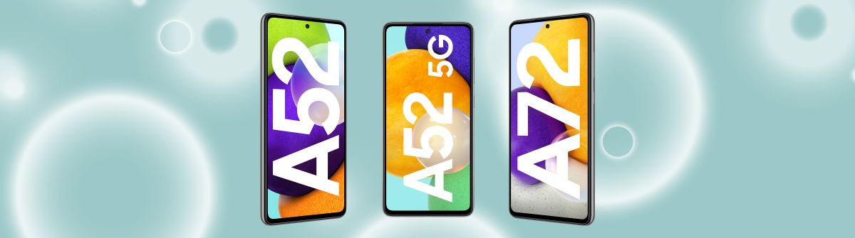 Galaxy A52 (5G) & A72: Die neuen Modelle der Galaxy A-Reihe