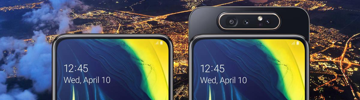Das Samsung Galaxy A80 – neue technische Maßstäbe in der gehobenen Mittelklasse