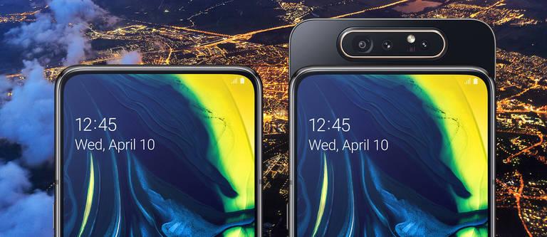 Das Samsung Galaxy A 80 setzt neue Maßstäbe