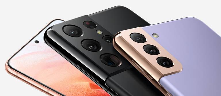 Das Samsung Galaxy S21, S21+ und S21 Ultra im Vergleich