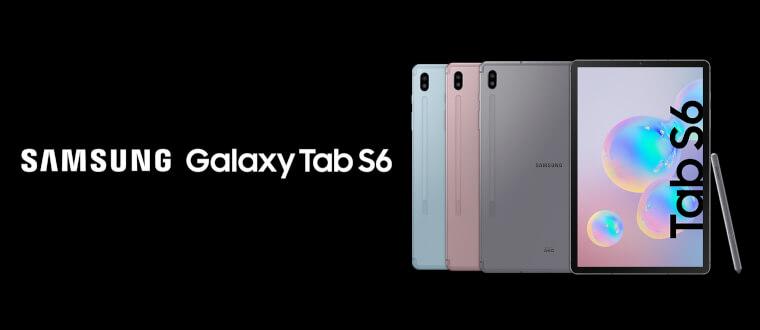 Samsung Galaxy Tab S6 – die Tablet-S-Klasse