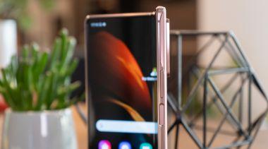 Design und Verarbeitung des Galaxy Z Fold2